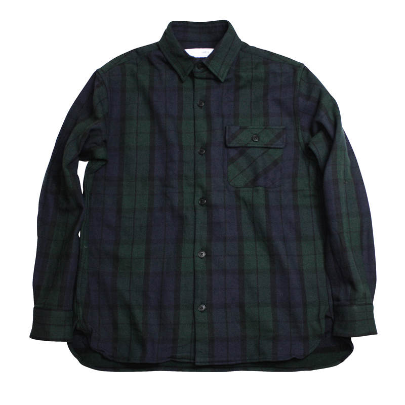 UNIVERSAL PRODUCTS CHECK FLANNEL SHIRT