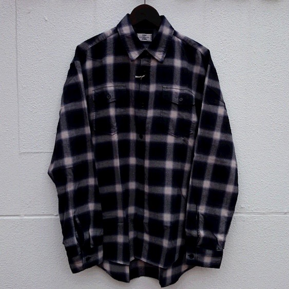 Rags McGREGOR OMBRE CHECK BLEACH SHIRTS