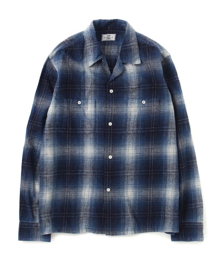 Rags McGREGOR FLANNEL CHECK OC SHIRTS