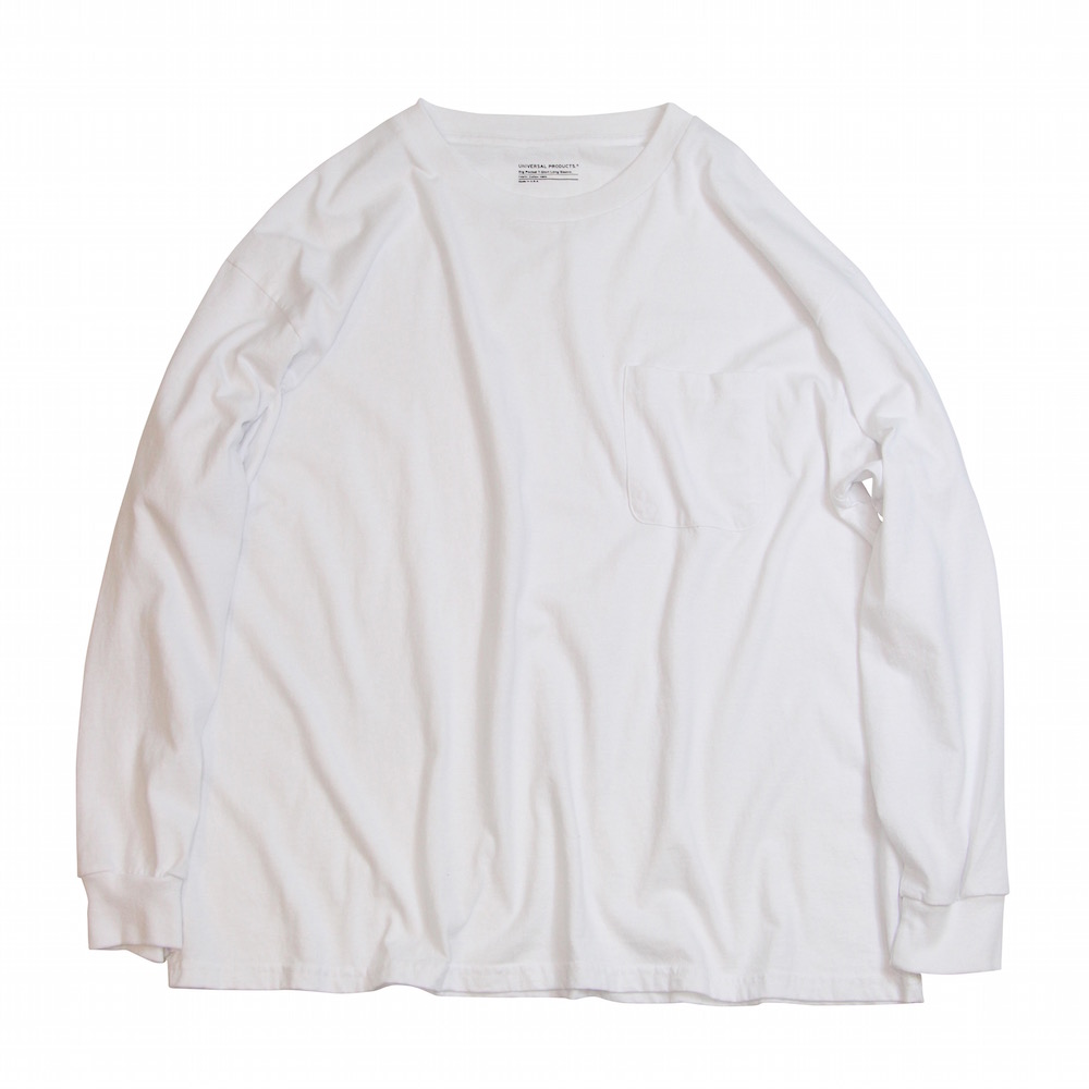 UNIVERSAL PRODUCTS HEAVY WEIGHT L/S TEE