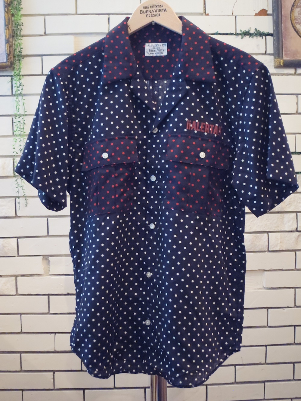 【BUENA VISTA】DOTS shirt