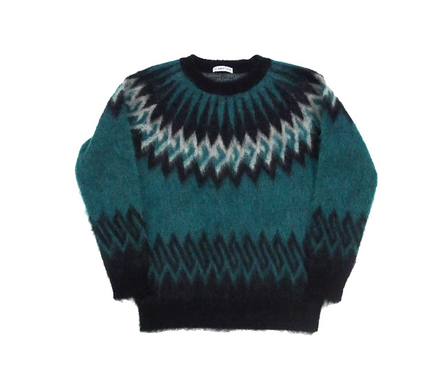 F-LAGSTUF-F NORDIC MOHAIR SWEATER