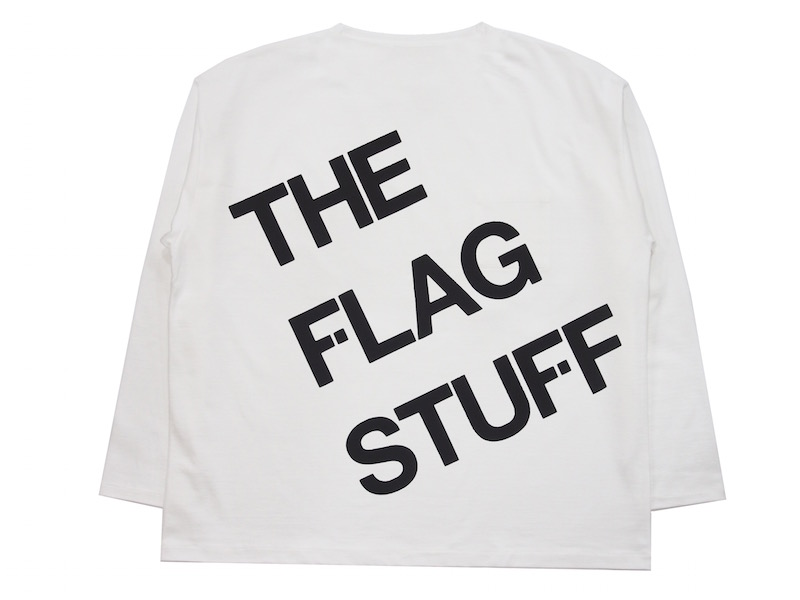 "L/S BIG Tee ""THE F-LAGSTUF-F"""
