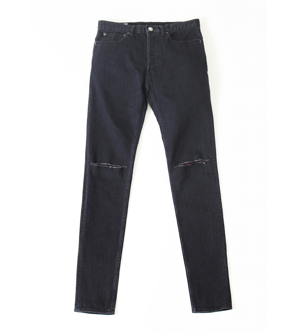 Rags McGREGOR SLIM DENIM PANTS/REPAIR