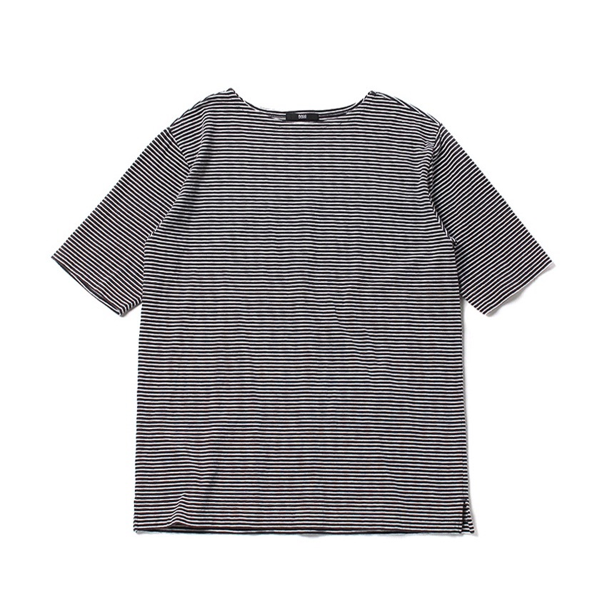 Rags McGREGOR BOAT NECK BORDER TEE