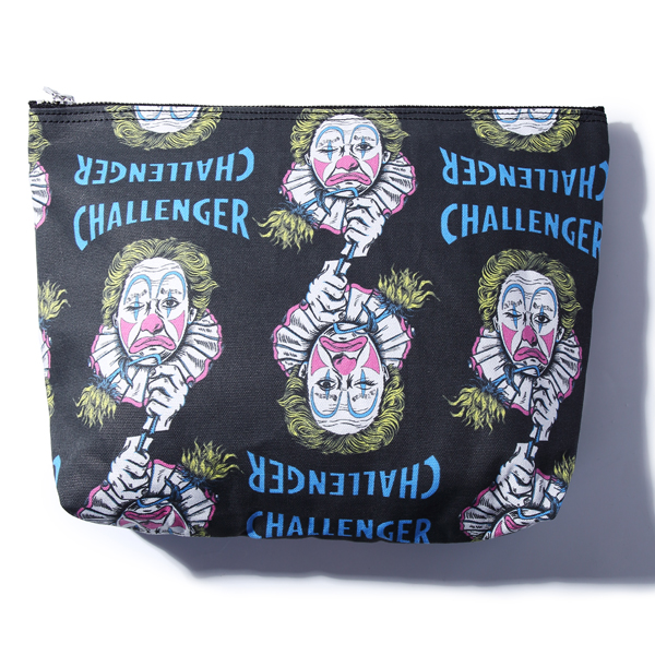 CHALLENGER PRINTED POUCH