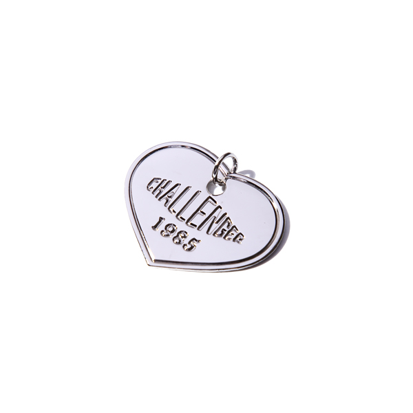 CHALLENGER HEART DOG TAG
