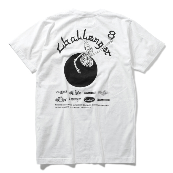 CHALLENGER 8th ANNIVERSARY 8BALL TEE