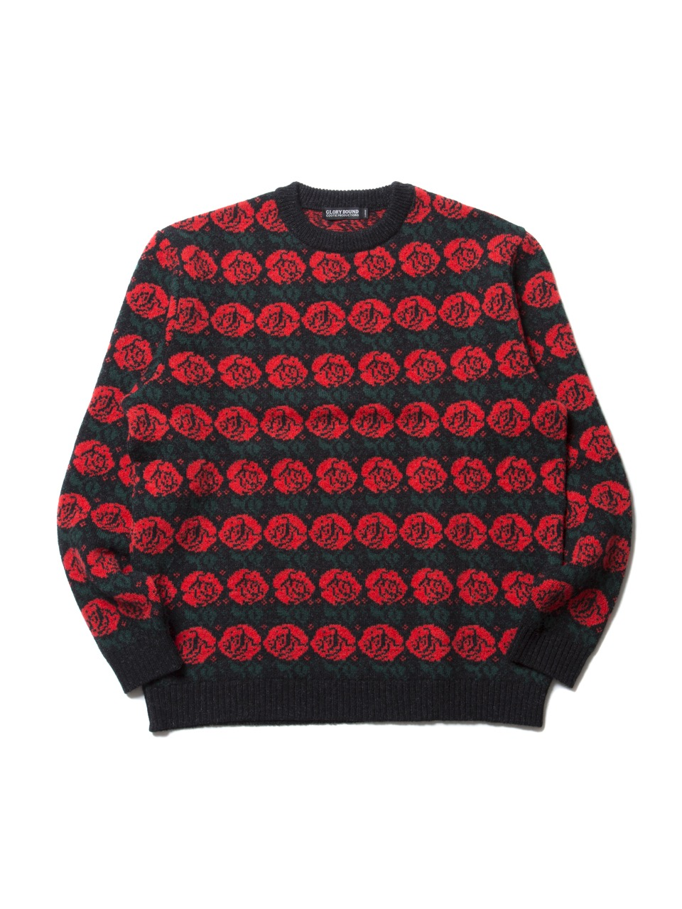 COOTIE Rose Pattern Sweater