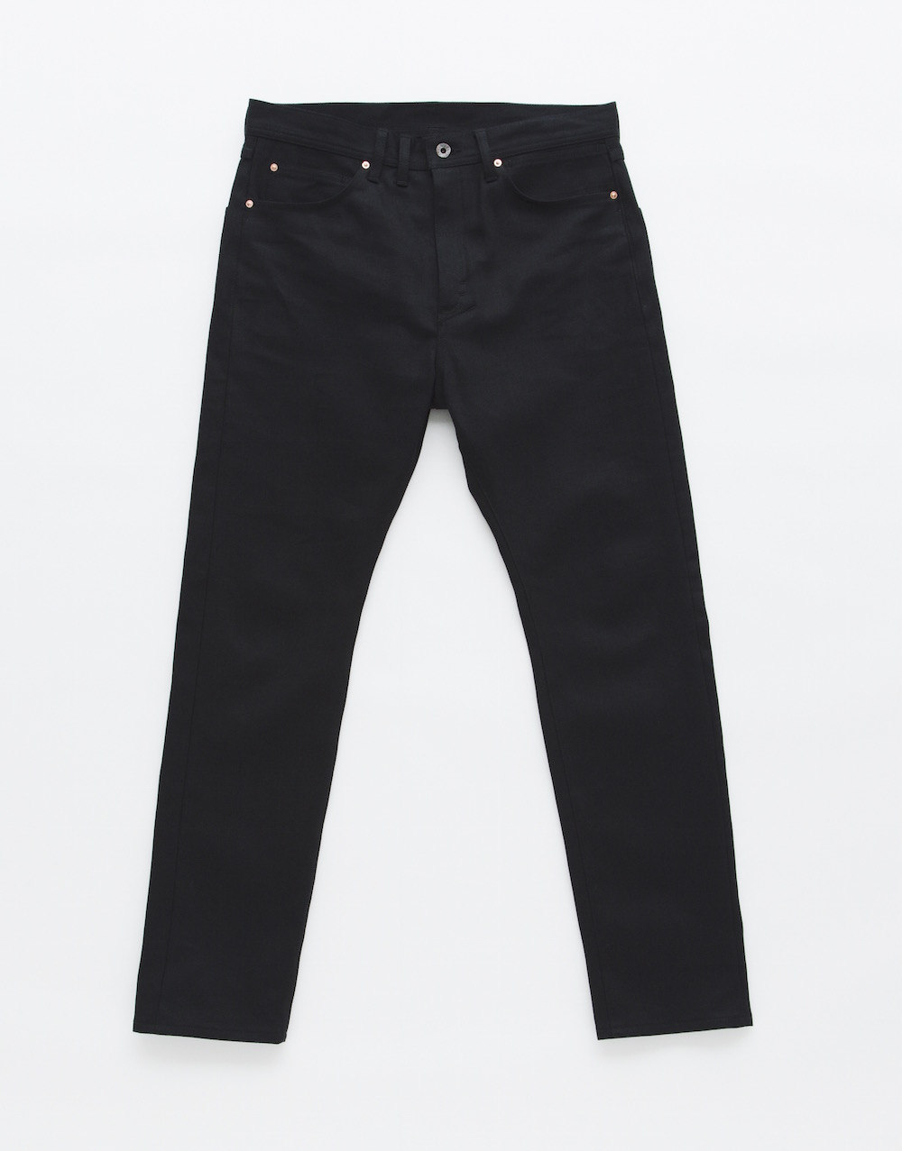 METAPHORE DROP CLOTCH DENIM PANTS