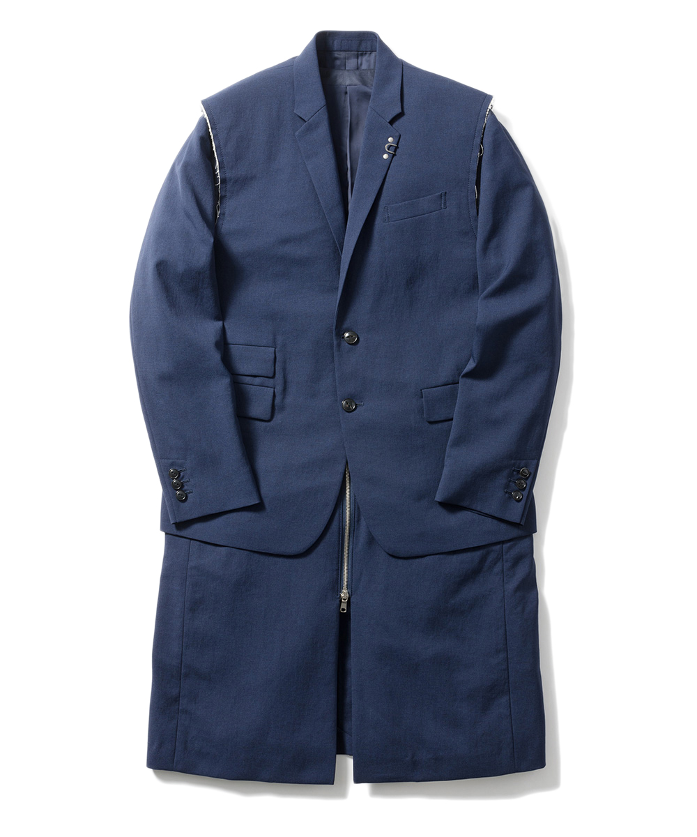 Name. DETACHABLE POLYESTER COAT