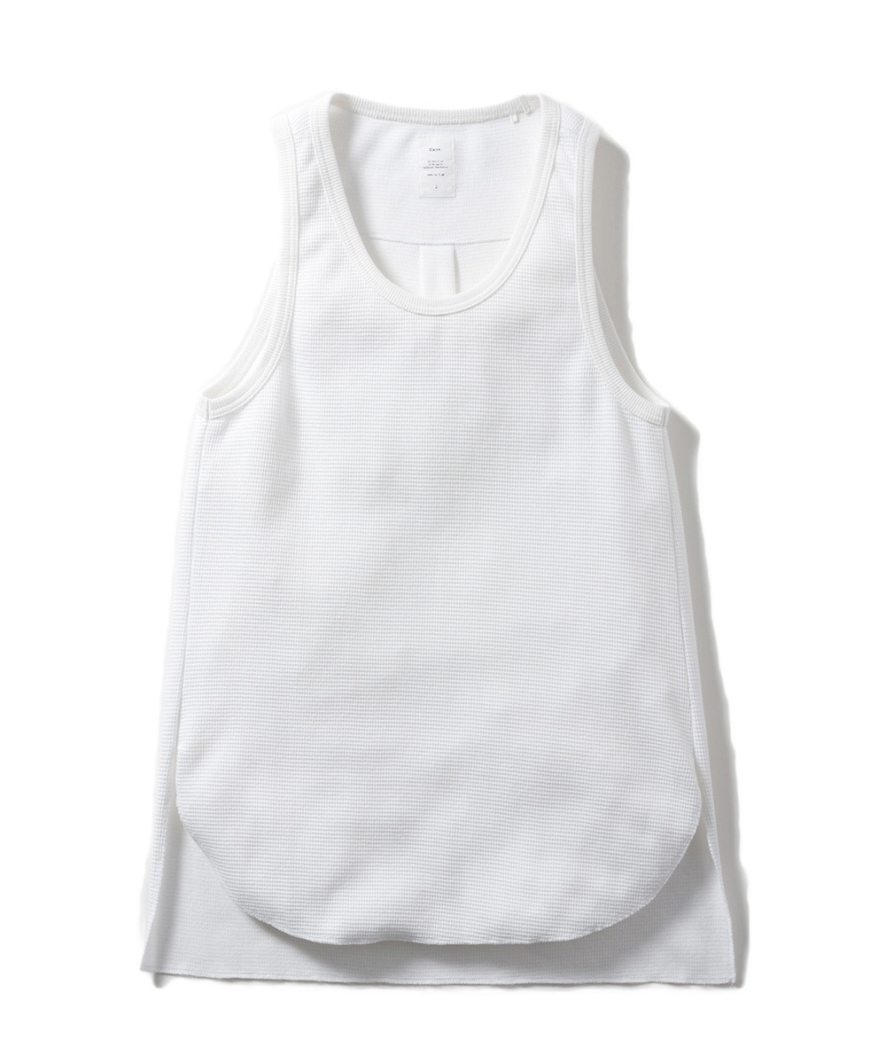 【Name.】WAFFLE THERMAL TANK TOP