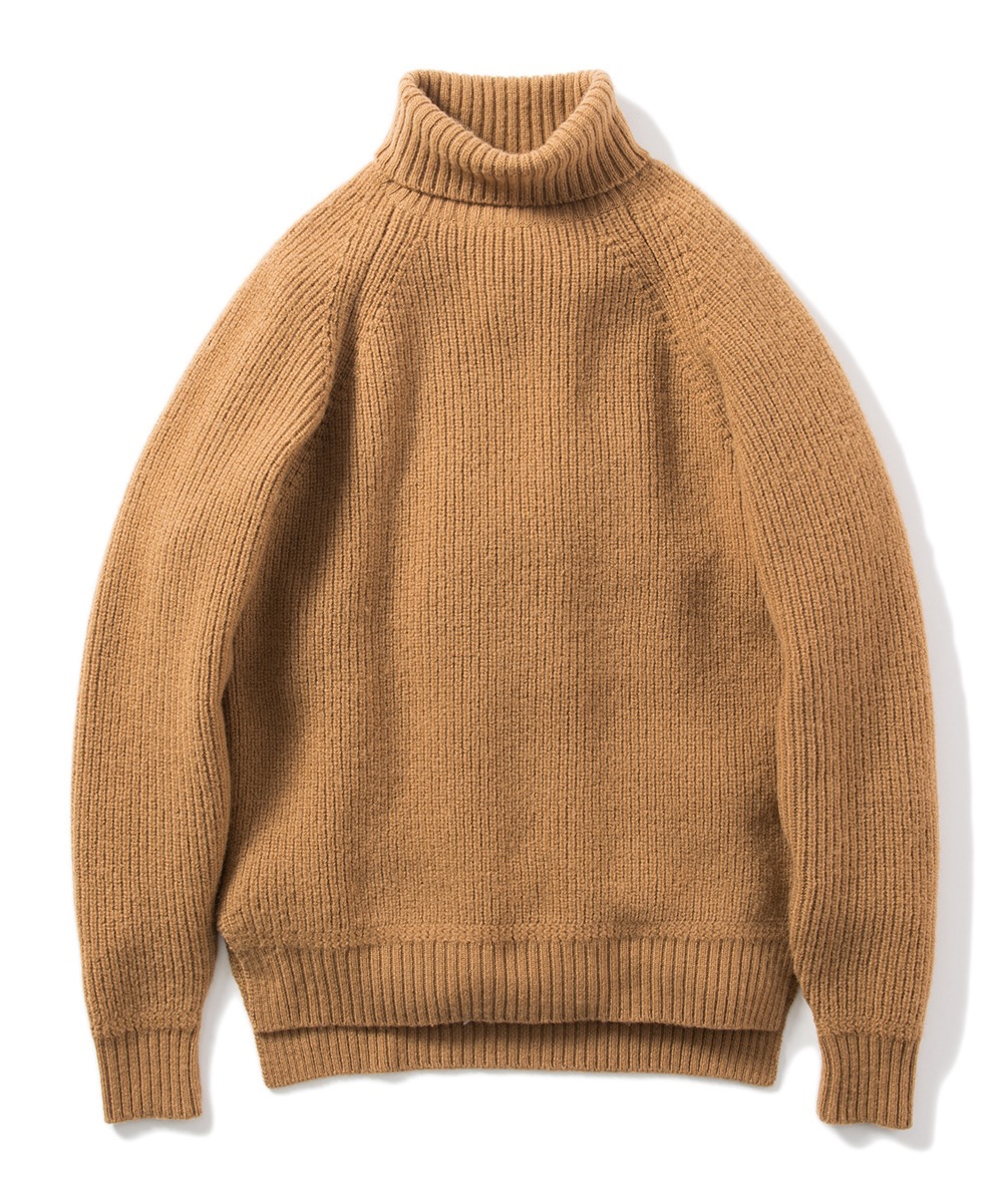 Name.WOOL TURTLE NECK KNIT