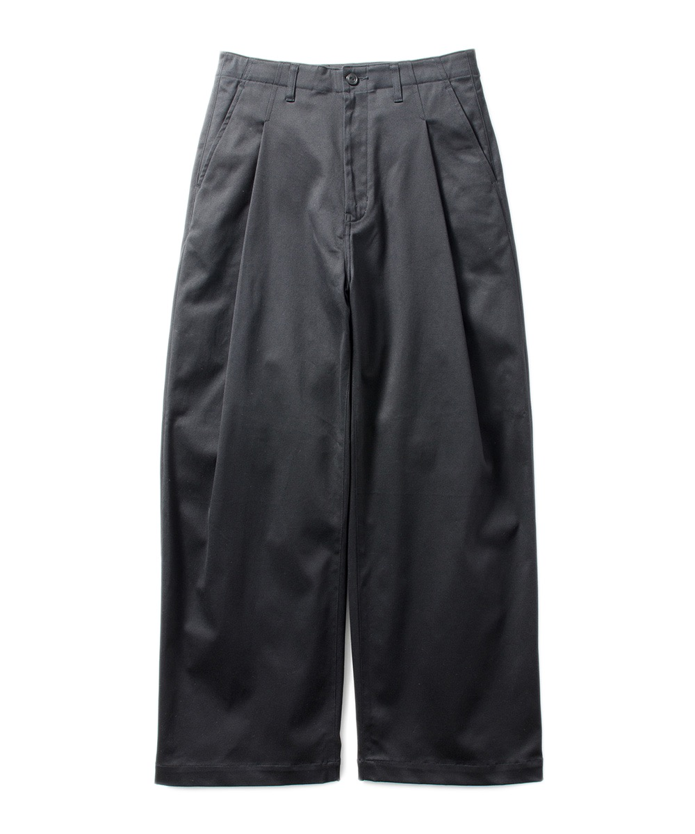 Name. STRETCH CHINO WIDE TROUSERS