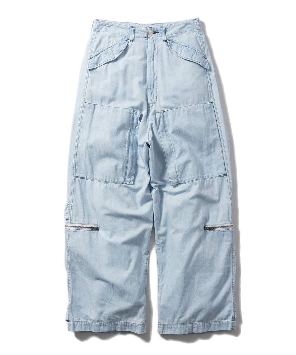 Name. 6oz DENIM HELICOPTER PANTS(BLEACHED)