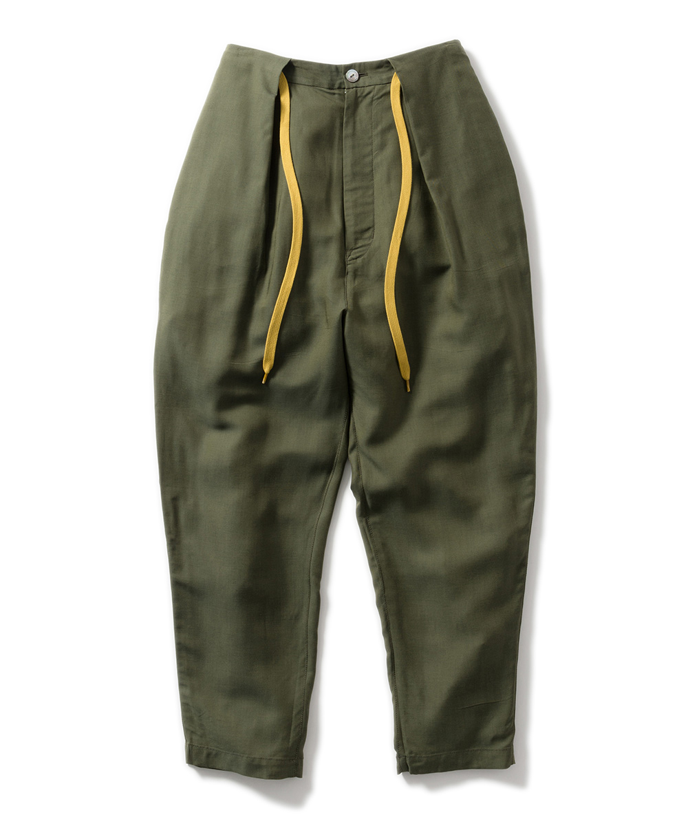 Name. WOOL CUPRA DRAWSTRING PANTS
