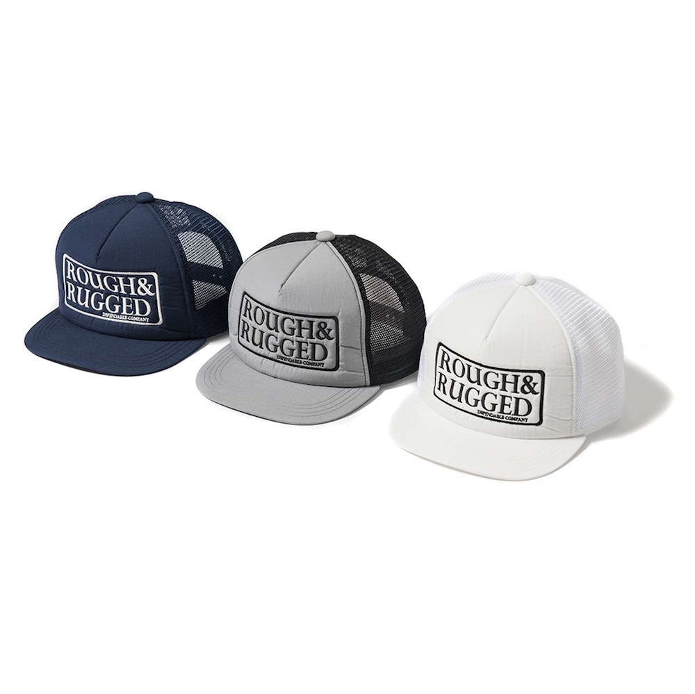 ROUGH AND RUGGED DESIGN CAP-02