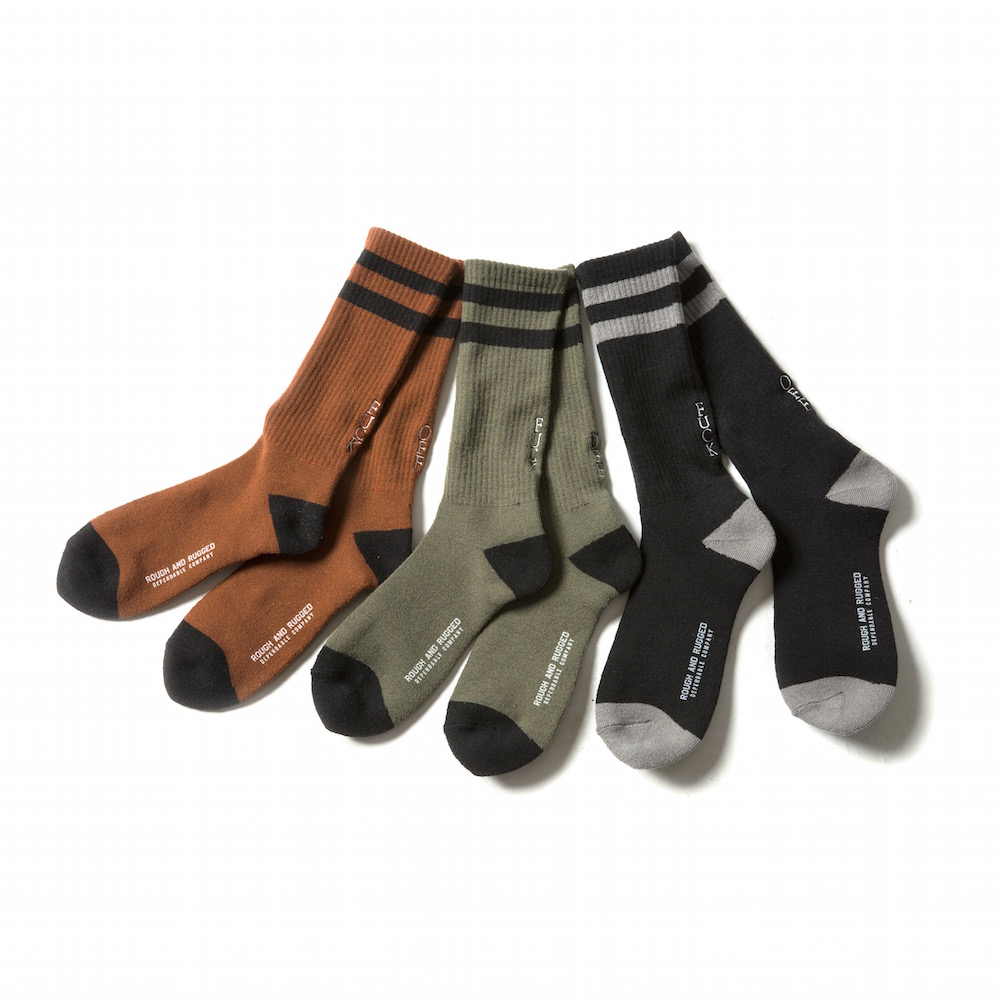 ROUGH AND RUGGED SOCKS