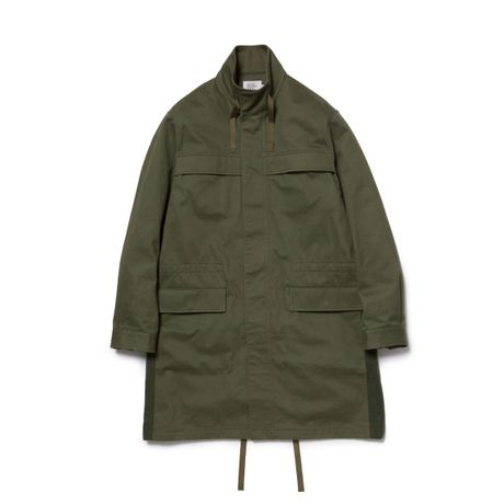 VLANK CONCEPT WEAR LONG MILITARY COAT