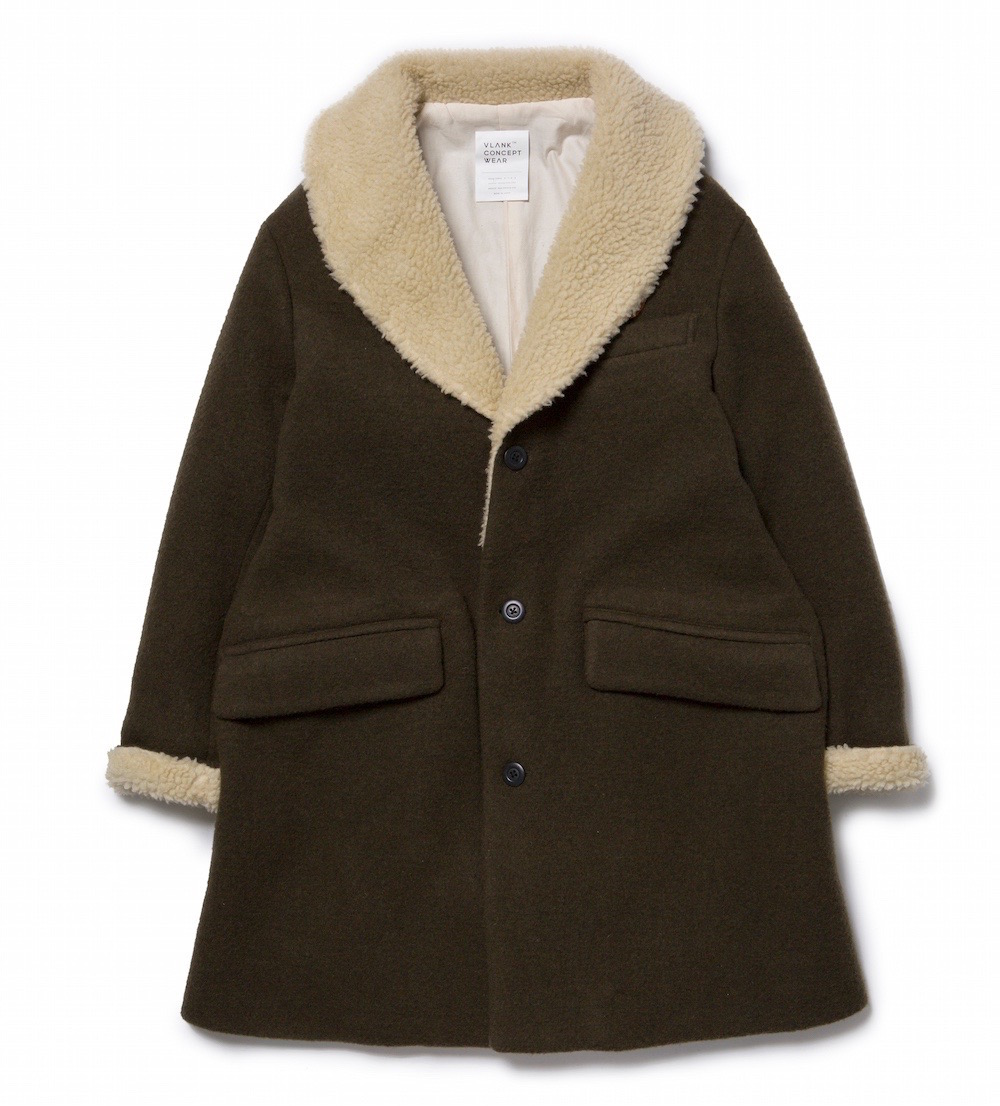 VLANK CONCEPT WEAR WOOL DONKEY COAT