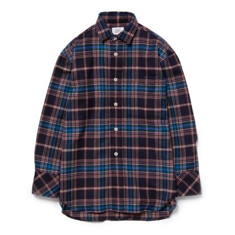 VLANK CONCEPT WEAR DADDY'S CHECK SHIRT