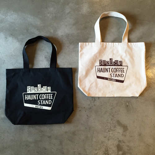 CAPTAINS HELM HAUNT COFFEE STAND BY HELMS US MADE ECO TOTE